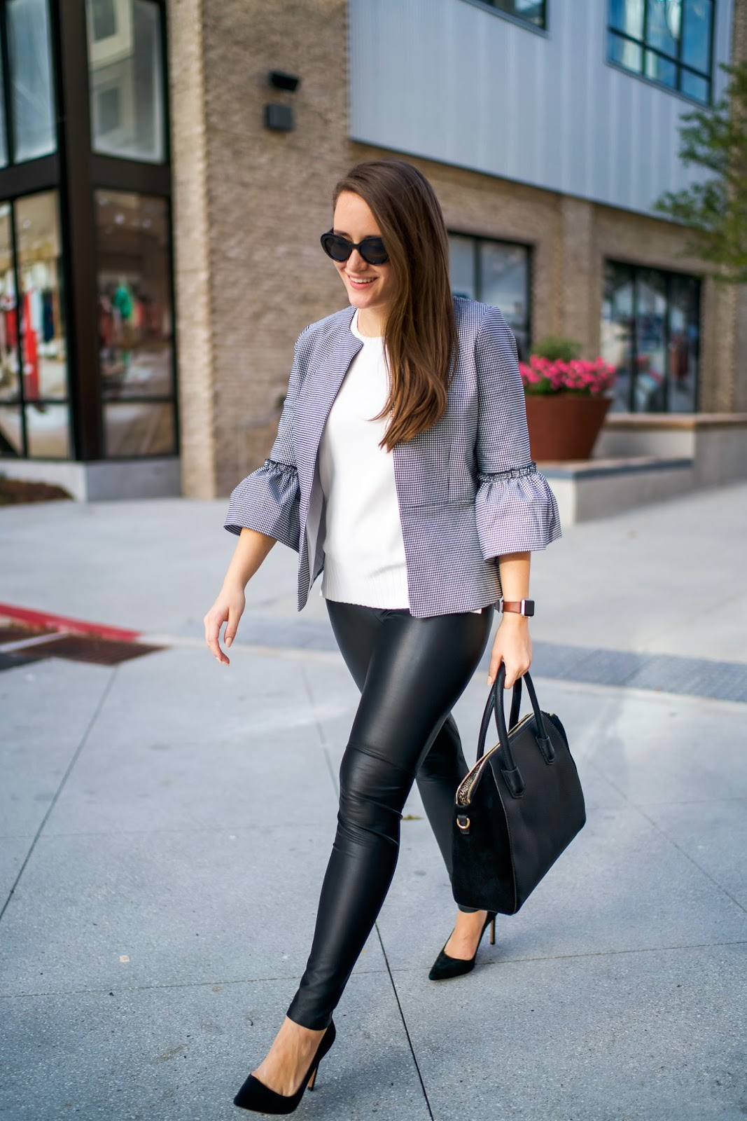 Here's How You Can Stay Classy While Wearing Leggings At Work